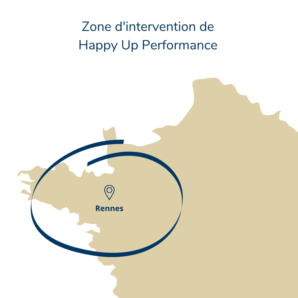 Happy Up Performance | Zone d'intervention